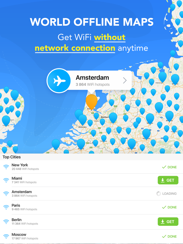 ‎WiFi Map Pro: WiFi, VPN Везде Screenshot