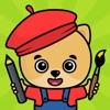 子供向けお絵かき・色塗りアプリ - iPhoneアプリ