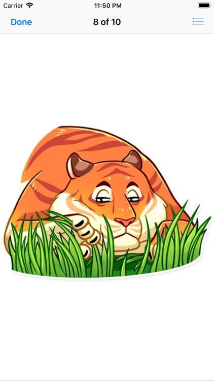 Amur Tiger Stickers screenshot-8