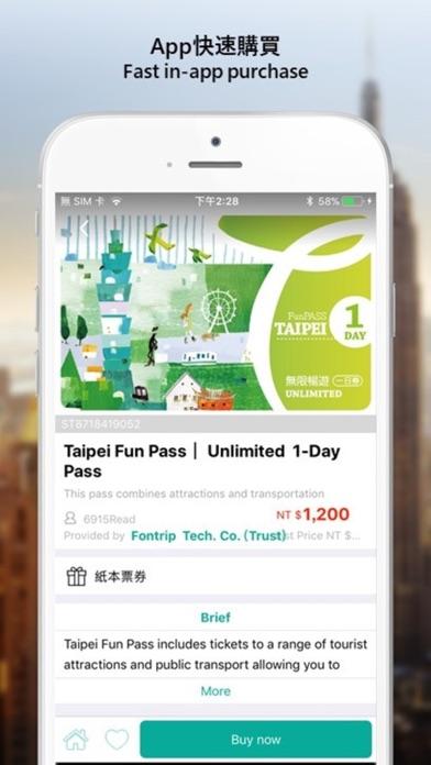 Taipei Fun Pass - App - iOS me