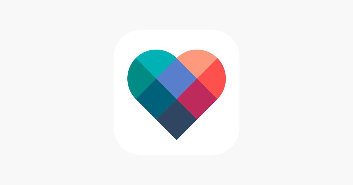 Dating app logo typer