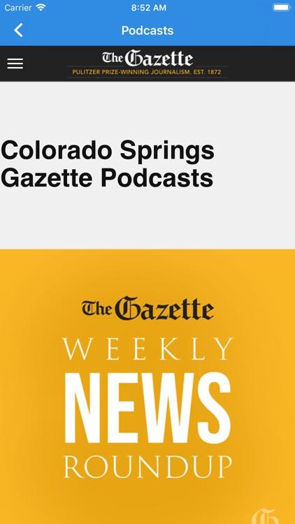 The Colorado Springs Gazette screenshot-3
