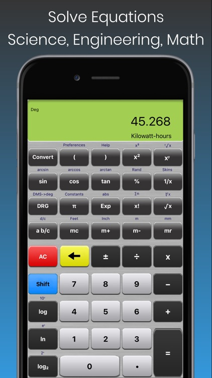 Scientific Calculator Elite screenshot-3