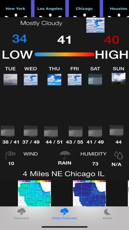 Instant NOAA Forecast Pro screenshot-3