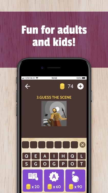 Bible Trivia App Game screenshot-3