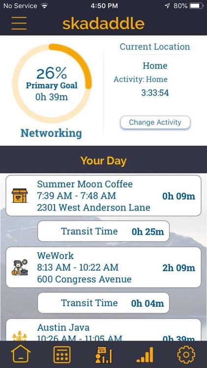 Skadaddle Life - Time Tracker