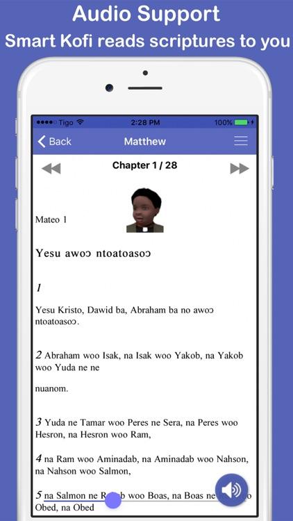 Twi & English Bible Offline screenshot-3