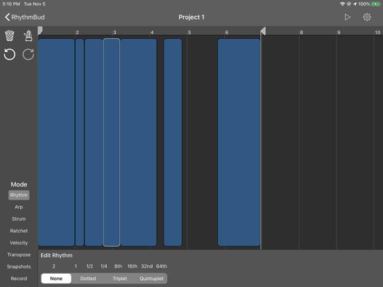 RhythmBud - AUv3 MIDI FX screenshot 9
