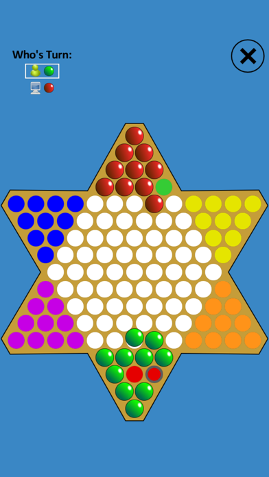 Chinese Checkers Touch screenshot one