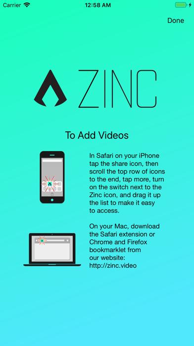 Zinc - Video Bookmarksのおすすめ画像3