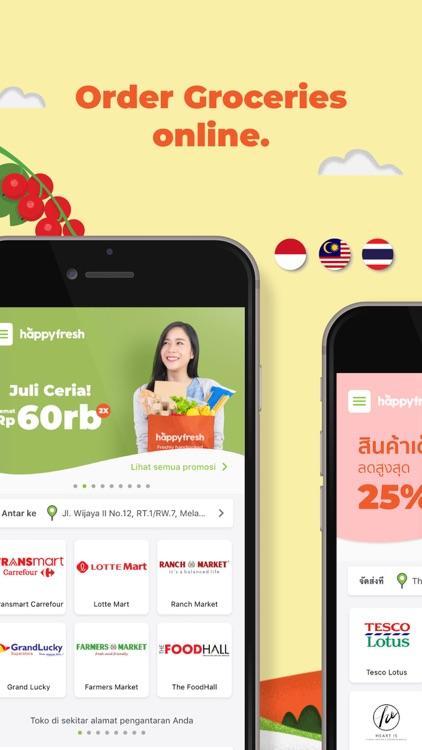 HappyFresh - Grocery Delivery screenshot-0