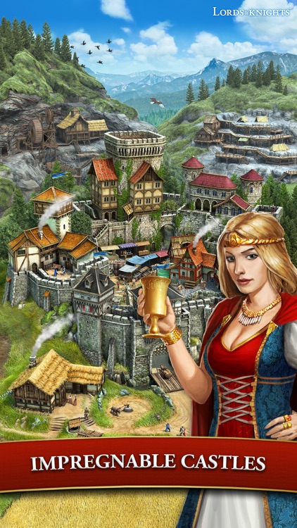 Lords & Knights - Medieval MMO