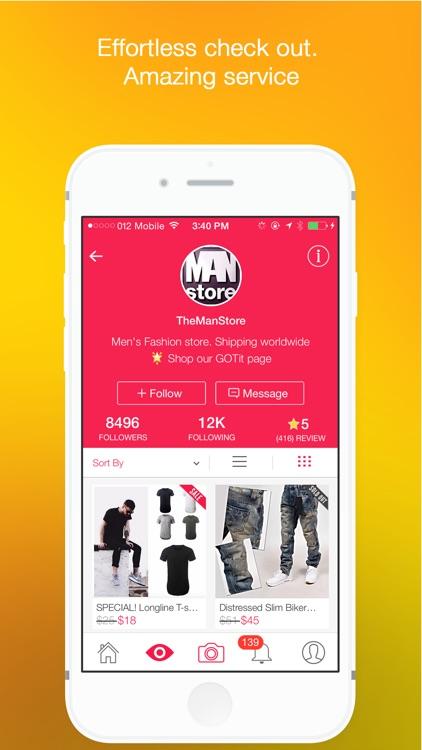 GOTit - Social Shopping screenshot-4