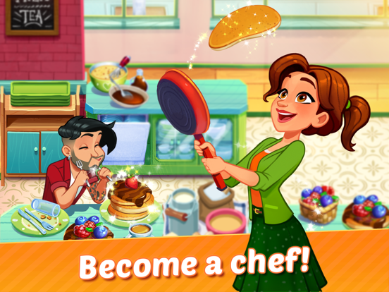 Delicious World - Cooking Game screenshot #1