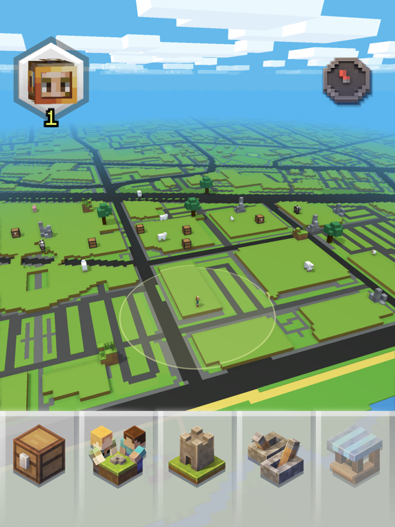 iPad Image of Minecraft Earth