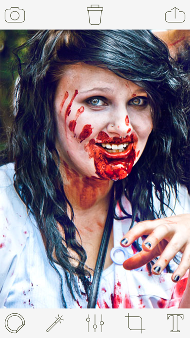 Zombie Photo Booth Pro screenshot two