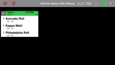 KDS for Waiter POS på PC