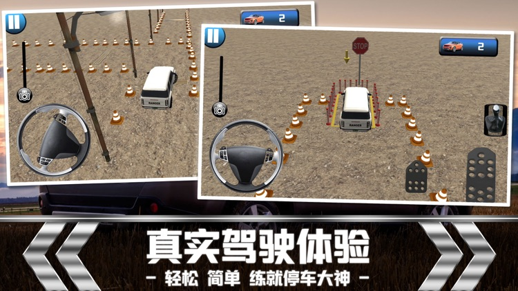 Parking Driving-Car Training