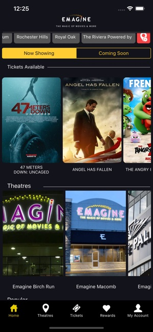 Emagine Theatres on the App Store