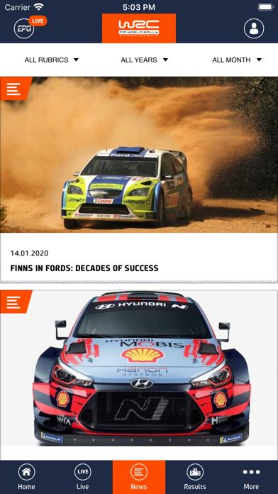 WRC - World Rally Championship Screenshot