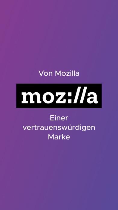 Firefox KlarScreenshot von 4