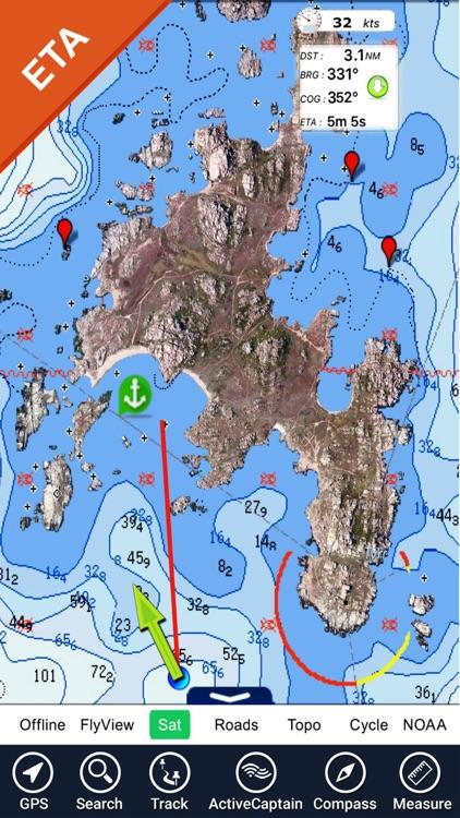 Australia Nautical Charts HD screenshot-4