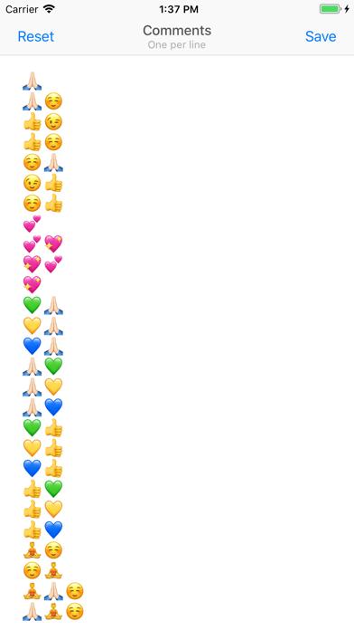 Comment Keyboard for Instagram Screenshot