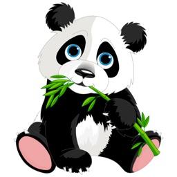 Panda Stickers - Sticker Pack