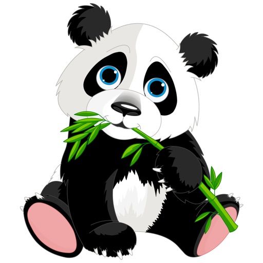 Panda Stickers - Sticker Pack