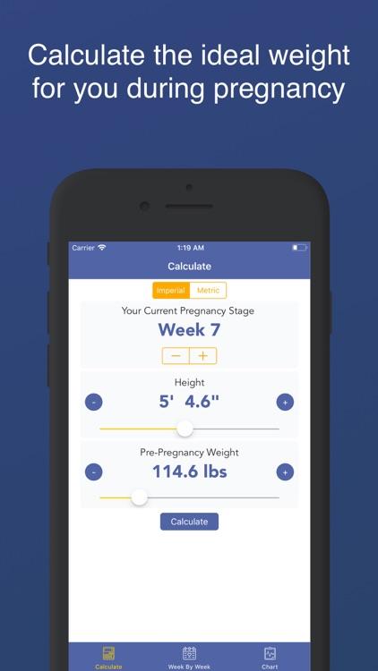 Pregnancy BMI : Weight Tracker