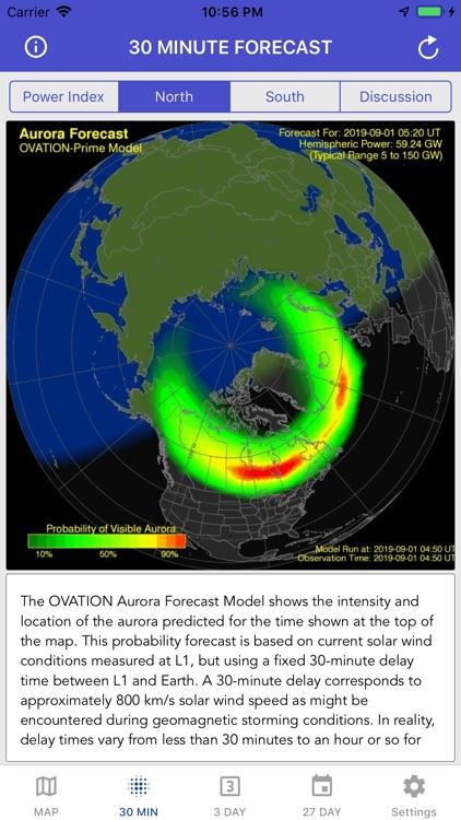 Aurora Forecast & Alerts screenshot-6