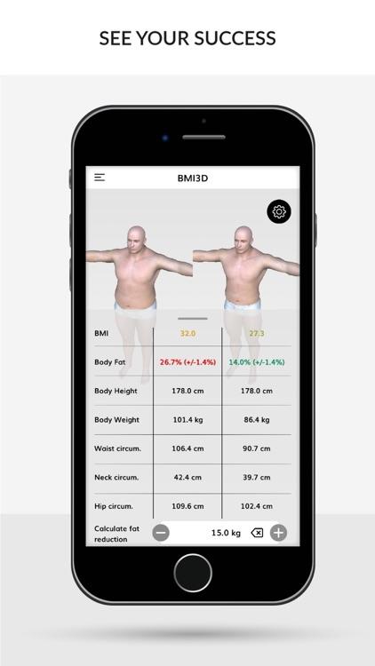 BMI 3D (Body Mass Index 3D) screenshot-3
