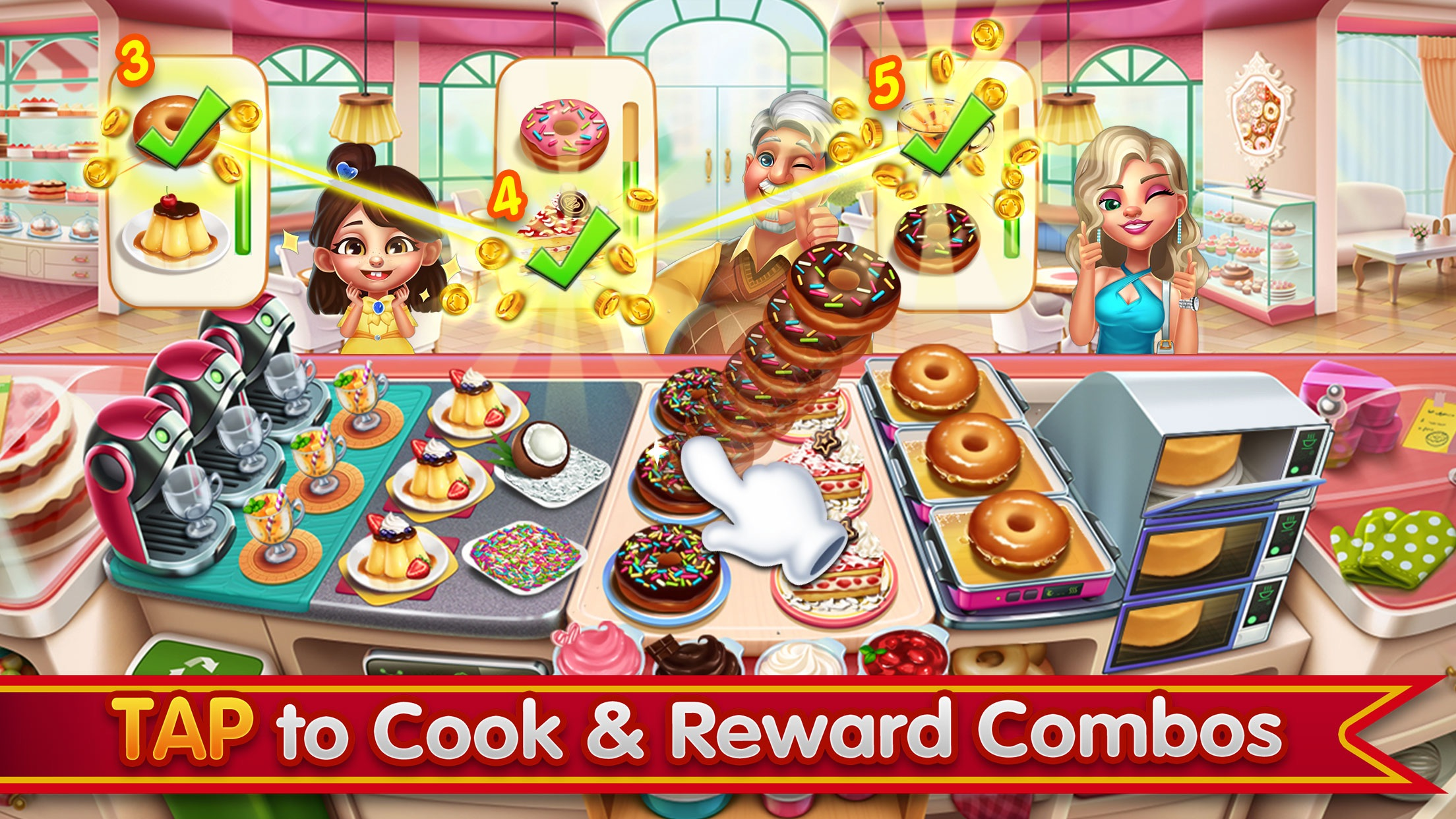 Cooking City - Chef's Game Screenshot