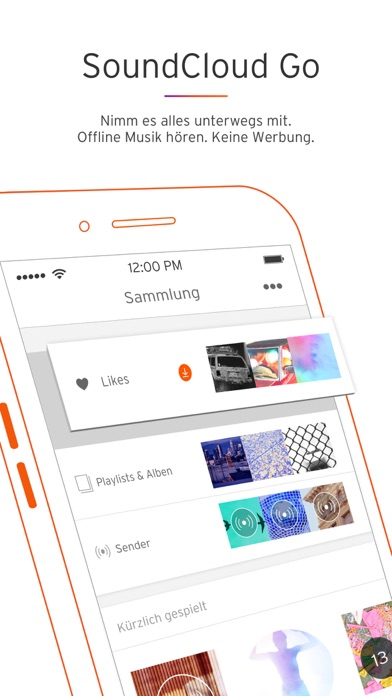 Screenshot for SoundCloud - Musik & Audio in Germany App Store