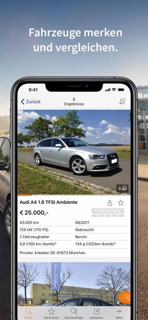 d33be50d59df43 AutoScout24 Gebrauchtwagen App im App Store
