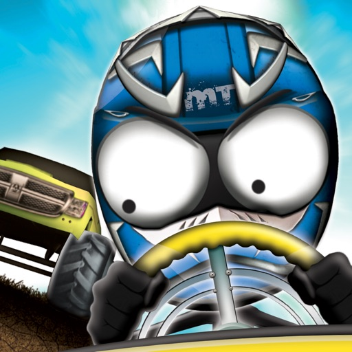 Stickman Downhill Monstertruck