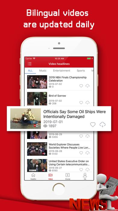 English Daily-Top Video News screenshot 2