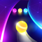 App Icon for Dancing Road: Color Ball Run! App in Mexico IOS App Store