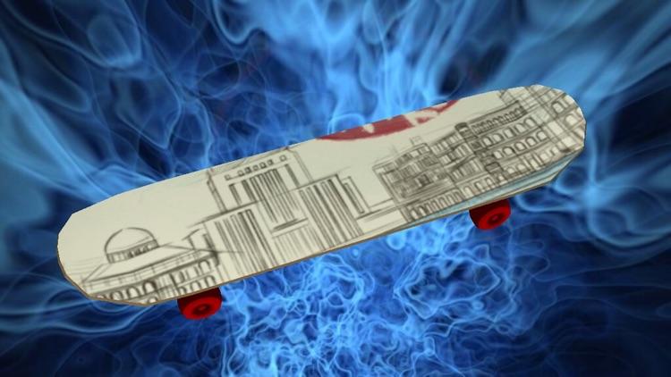 Skateboard Doodle 3D screenshot-7