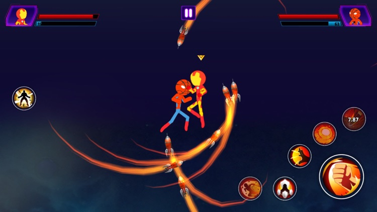 Super Stickman Heroes Warriors screenshot-7