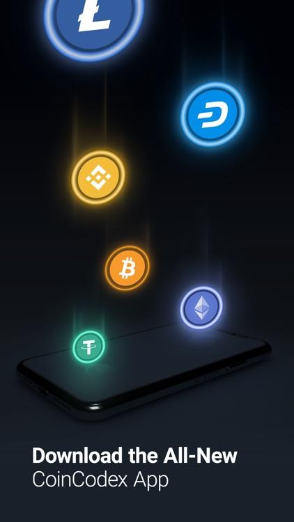 CoinCodex - Crypto Tracker screenshot-5