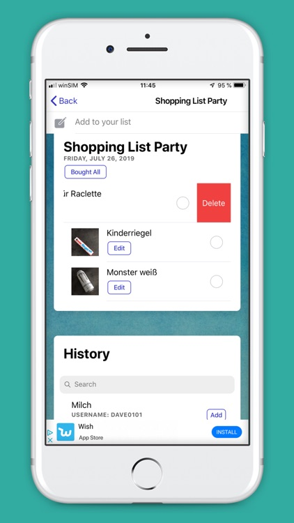 Shopping List - Buy Together screenshot-4