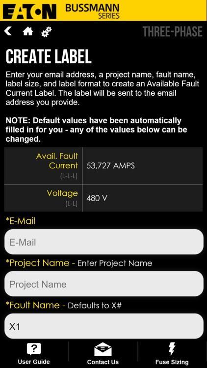 Fault Current Calculator screenshot-6
