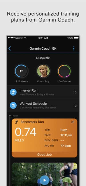Garmin Connect Mobile App >> Garmin Connect On The App Store