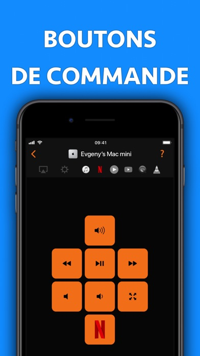 Screenshot Télécommande pour Mac - Pro
