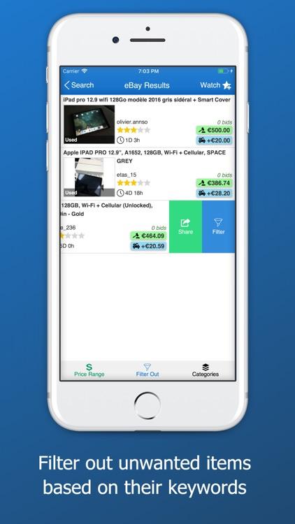 Watchdog for eBay screenshot-3