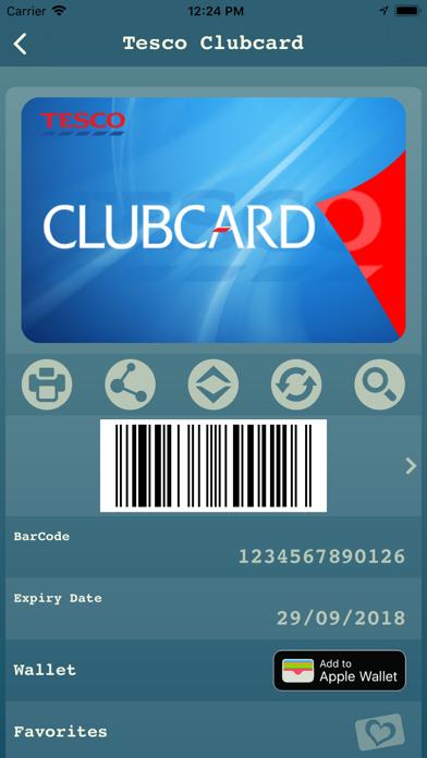 My Cards - Wallet Screenshot