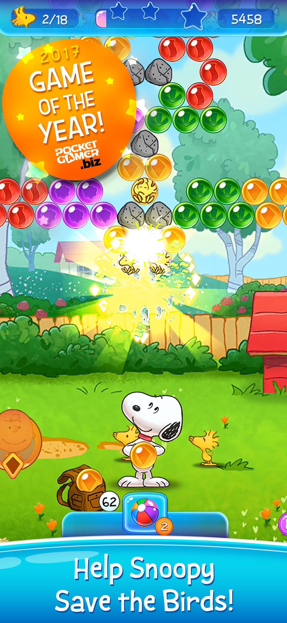 Bubble Shooter: Snoopy POP! Cheat Codes