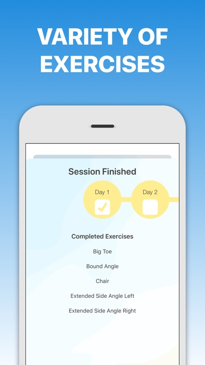 5 Minute Yoga Workouts screenshot-3