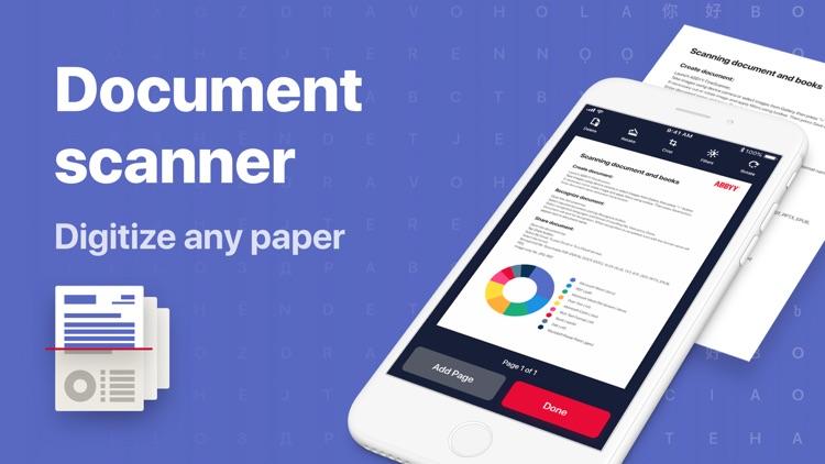 FineScanner: PDF Document Scan screenshot-0